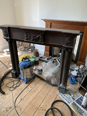 Victorian Style Wooden Fire Surround / Mantel Place