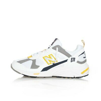 Sneakers Uomo New Balance 878 Lifestyle Cm878Tca Trainers Shoes Woman Bianco