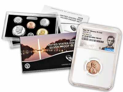 2019 US Silver Proof Set 2019 W Rev PF Cent NGC PF70 RD FR PRESALE SKU57889