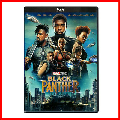 Black Panther DVD - Marvel MCU - Brand New Sealed