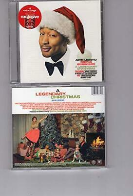 JOHN LEGEND - A LEGENDARY CHRISTMAS Target Exclusive Audio CD NEW