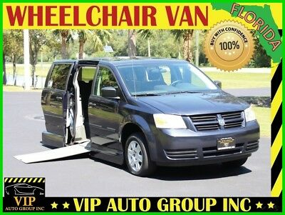 2008 Dodge Grand Caravan  2008 Dodge Handicap Wheelchair Mobility Power Side Entry Ramp VMI Conversion