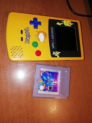 Nintendo Game Boy Color Pokemon +  Tetris  Originale  Vintage Leggi