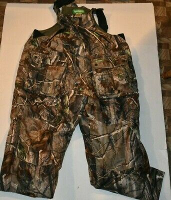 ef4c2e6fcd2a9 EUC Mens Remington Camouflage Insulated Overalls Size XL Zipper & Snap Front