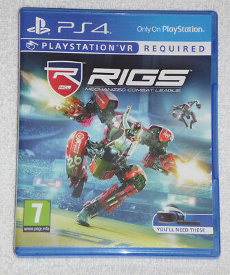 Sony Playstation Ps4 Game Psvr Rigs Mechanized Combat League Future Of Sport Pal