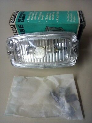 Aston Martin Classic Genuine Boxed New / Stock Bonnet / Reverse Lamp Unit