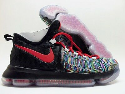 707e23a8e167 Nike Kd 9 Ix Id Kevin Durant Multi-Color black-Red Size Men s