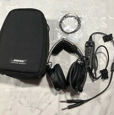 Bose A20 Aviation Headset. Bluetooth/Dual Plug Refurbished.