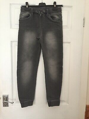 Boys F And F Jeans In Grey Age 10/11