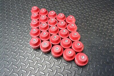 "Lot of 25 Glastic Electrical Standoff 2"" x 2"""
