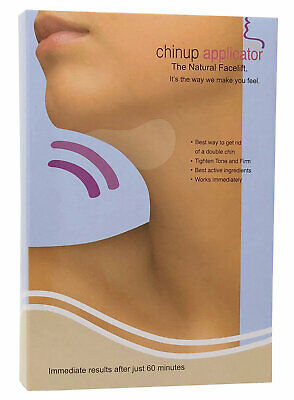 Double Chin Reducer Remover Chin Up Applicator Wrap, Chin Slimmer Mask  5 WRAPS