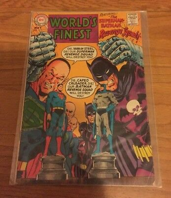 Worlds Finest 175. Fn+ Cond. May 1968. Dc. Superman / Batman. Cents Copy