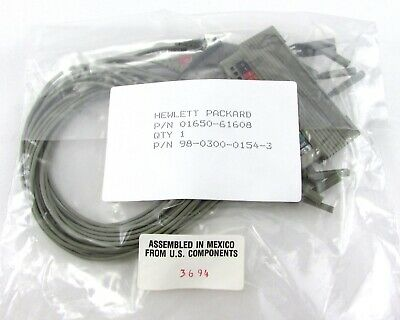 HP 01650-61608 / AGILENT E5383A High Density Logic Probe Adapter =NOS=