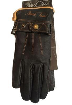 Brand New Mark Todd Adult Winter Leather Riding Gloves - Equestrian- Size Small