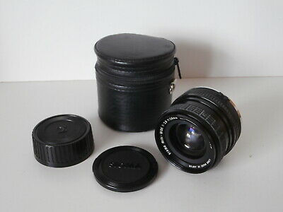 Sigma Mini-Wide 1:2.8 f=28mm Lens with Case