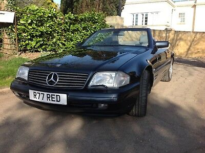 Mercedes SL320 R129 Convertible LOW miles Cherished plate auto hardtop REDUCED