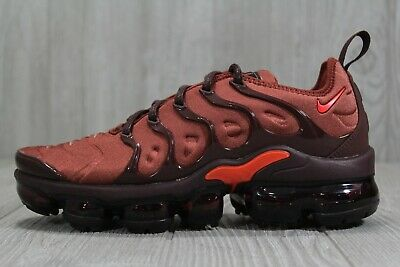 882d08dd9c8f9 40 Nike Air Vapormax Plus Burnt Orange Habanero Red Womens Shoes 7  AO4550-201