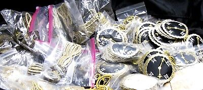 ASSORTED APPLIQUES 710 piece lot  9 STYLES Vintage but NEW see list & photos