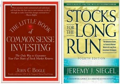 Little Book Common Sense Investing + Stocks for the Long Run/4 Phone/Tab/PC*ONLY