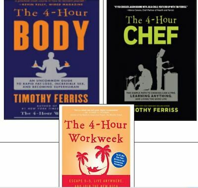 The 4 Hour Body + Four Hour Chef + 4 Hour Work Week   (PHONE/TAB/PC *ONLY*)