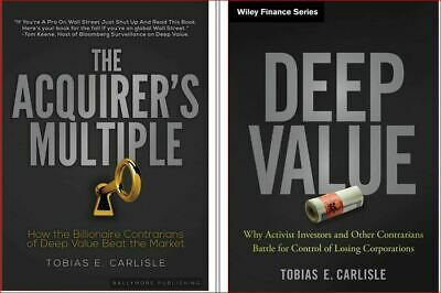 Deep Value + The Acquirer's Multiple  (Carlisle)  (Phone/PC/Tab*Only) 1 FREE