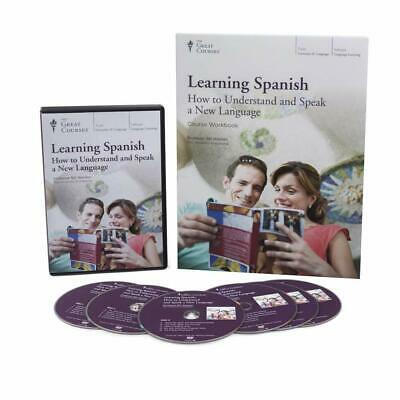 The Great Courses *** LEARNING SPANISH *** Understanding & Speaking Retail=$385
