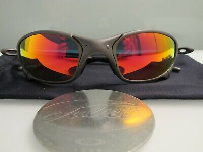 f0717c5f3 Oakley X Metal Juliet Initial Run/ Ruby Iridium Lens Low Serial X003010  Display