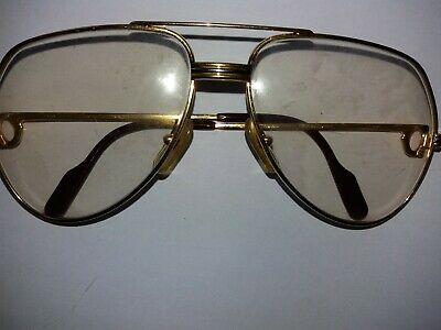 50c6523f25 VERITABLE LUNETTES CARTIER Paris Plaque Or Vintage - EUR 110,00 ...