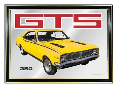 Bar-Mirror-Picture-Sign-Artwork-Suit-Yellow-Holden-Hg-Gts-Coupe-308-Enthusiast