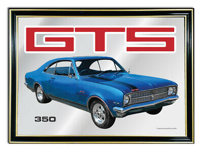 Bar-Mirror-Picture-Sign-Artwork-Suit-Blue-Holden-Hk-Gts-Coupe-Enthusiast