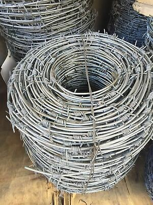 Sales! Hot-dip Galvanized Barbed Wire 3MM*2.2MM*250M
