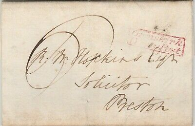 1831 Letter to Solicitors Preston Re Angry parents Bretherton School Ormskirk