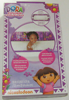 Bathtub Inflatable Safety Bumper Dora The Explorer New 2 Bumpers Tub Bathing