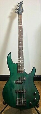 Ibanez TR Series Electric Bass Guitar Trans Green 1995