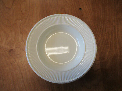 "Wedgwood England EDME Off White 8"" Large Rim Soup Bowl 1 ea"