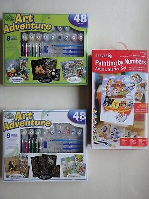 Art Adventure with 9 Projects or Artist's Starter Set (Choice of 2)