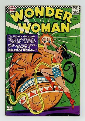Wonder Woman (1st Series DC) #166 1966 VG+ 4.5