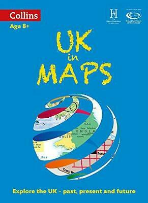 UK in Maps (Collins Primary Atlases), Collins Maps, Scoffham, Stephen, Good Cond