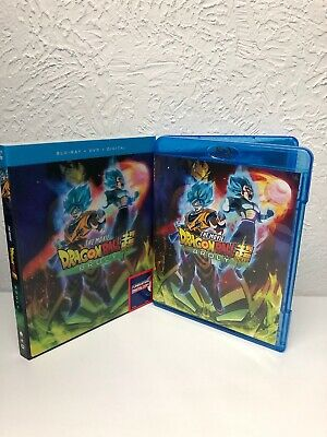 DRAGON BALL SUPER BROLY  THE MOVIE Blu Ray Disc + Digital (NO DVD INCLUDED) READ