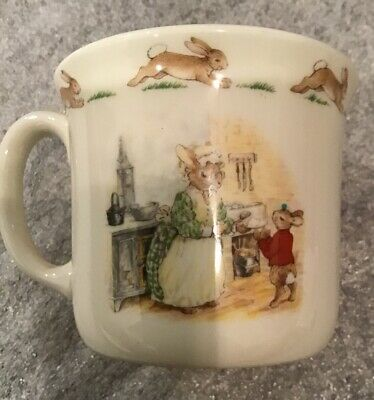 "Royal Doulton ""Bunnykins"" Fine Bone China Coffee Cup 1988"