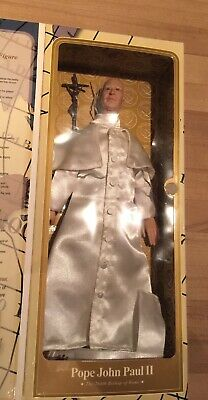 Pope John Paul II Large Talking Action Figure Limited Edition