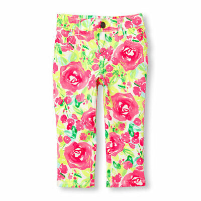 Clothing, Shoes & Accessories Nwt The Childrens Place Toddler Girls Leggings Waffle Knit Pink Hearts 4t Bottoms