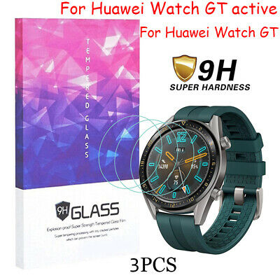 9H Tempered Glass Screen Protector Film For Huawei Watch GT active Smartwatch AU