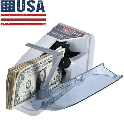 Handy Mini Bill Cash Money Banknote Currency Counter V30 Counting Machine I7A1