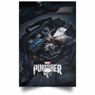 New Hot The Punisher 2019 Season 2 Marvel TV Series Show Poster