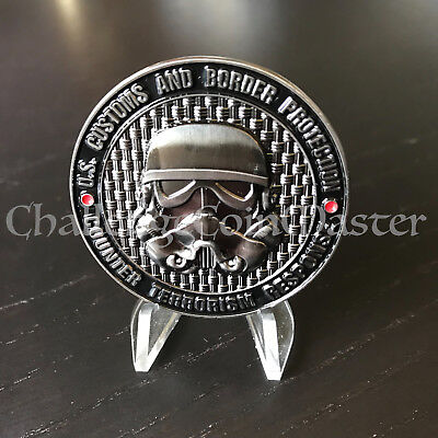 U.S. Customs and Border Protection Counter Terrorism Star Wars Challenge Coin