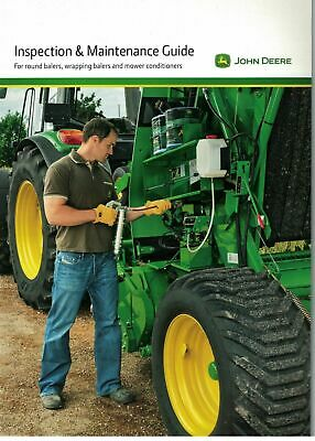 John Deere Inspection & Maintenance Guide Round Wrapping Balers Mower 2012 5956F