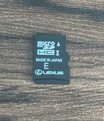 Lexus Premium Navigation Micro SD Card 2018 / 2019 ver.1 Latest new