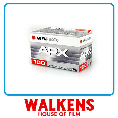 AGFA APX 100 35mm - FLAT-RATE AU SHIPPING!