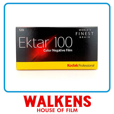 Kodak Ektar 100 120 Film - 5 rolls Pro-Pack - FLAT-RATE AU SHIPPING!